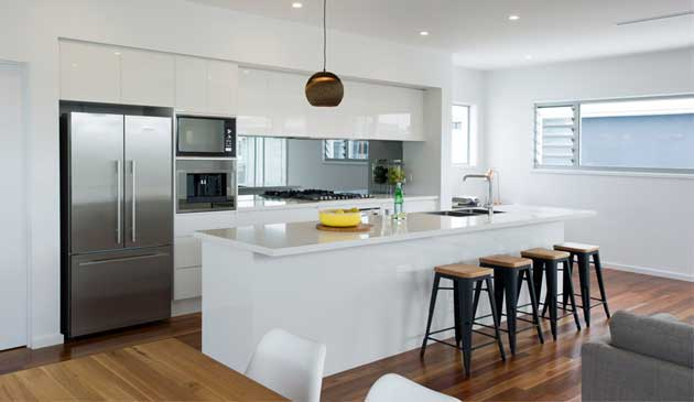 modern home kitchen renovation Melbourne
