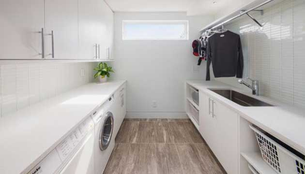 laundry renovation & cabinets Melbourne